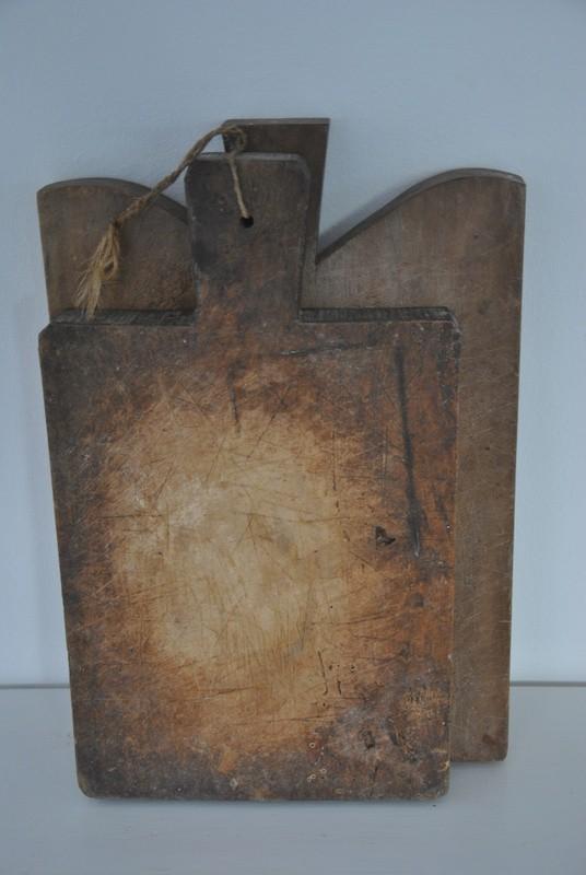 Gamle spækbræder af træ