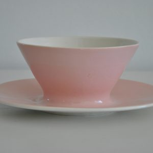 Lyserød porcelæn fra Frankrig