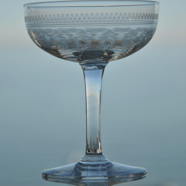 Fransk Champagneglas