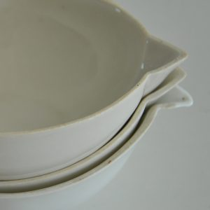Franske porcelænsskåle