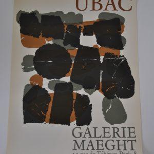 UBAC Plakat