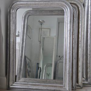Louis Philippe, sølvspejl, fransk sølvspejl