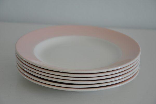 Lyserødt porcelæn