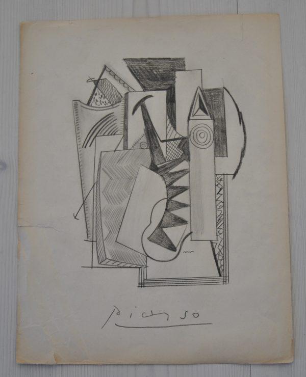 Karakteristisk Pablo Picasso tegning