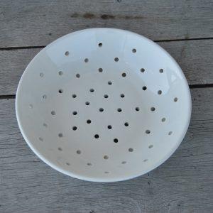 Hvid svensk porcelænssi