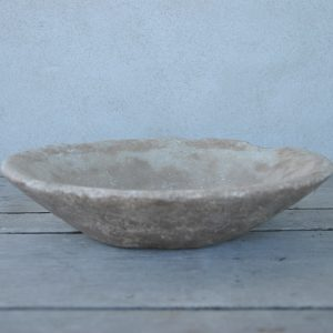 Rustik skål i marmor