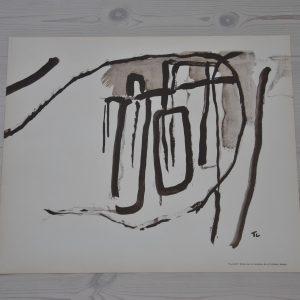 Tall Cot litografi