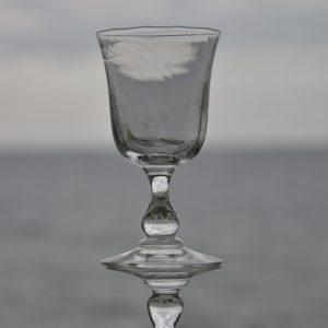 6 Gamle Portvinsglas