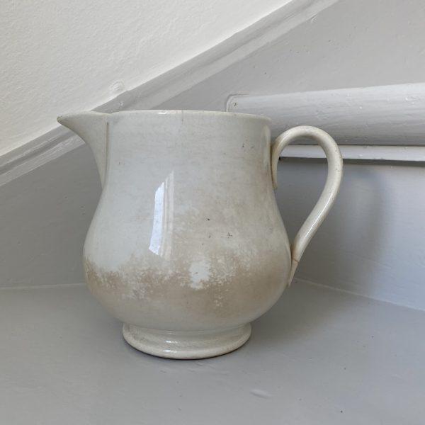 Hvid fransk porcelænskande