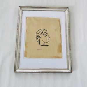 Picasso litografi på håndlavet papir