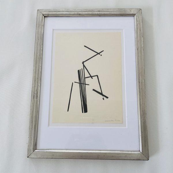 Marchelle Cahn Litografi 1930