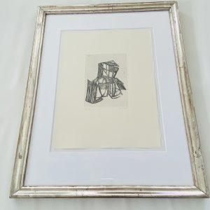 Franske Houdart - Nummereret litografi