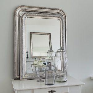 Louis Philipe sølvspejl