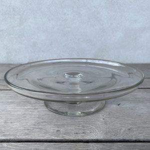Glasfad på fod - 24 cm