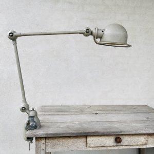 Jielde skrivebordslampe med bordklemme