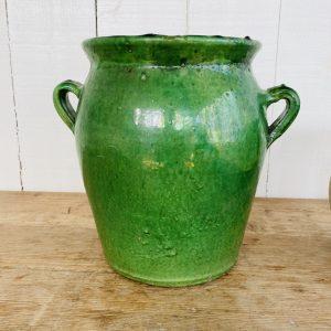 Grøn Provencekrukke