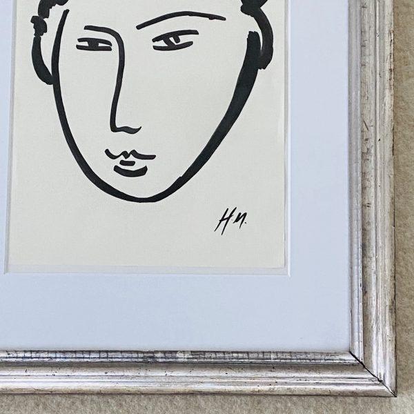 Matisse ansigt 51 x 40