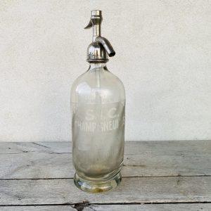 Hvid sifonflaske