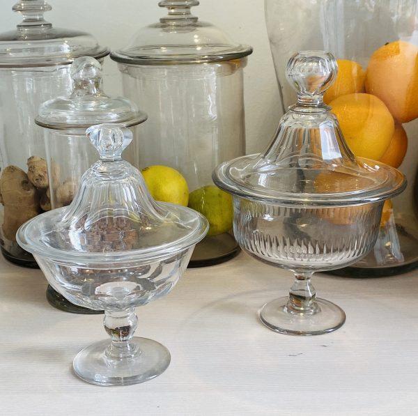 Fransk glas med låg - 21 cm