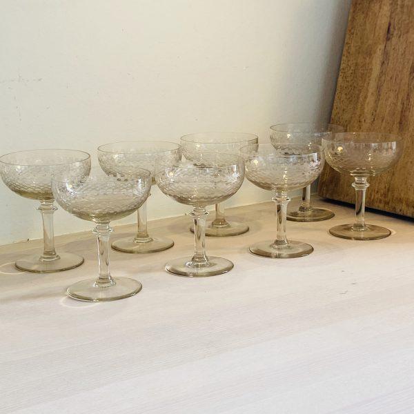 8 elegante champagneskåle