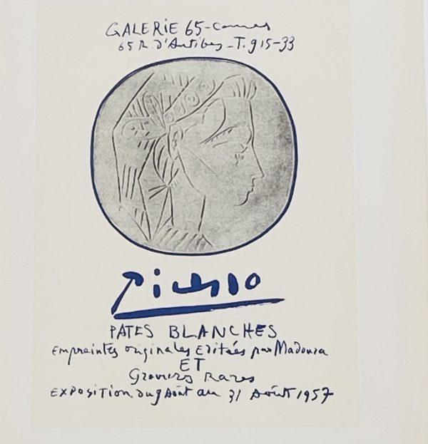 Picasso Litografi