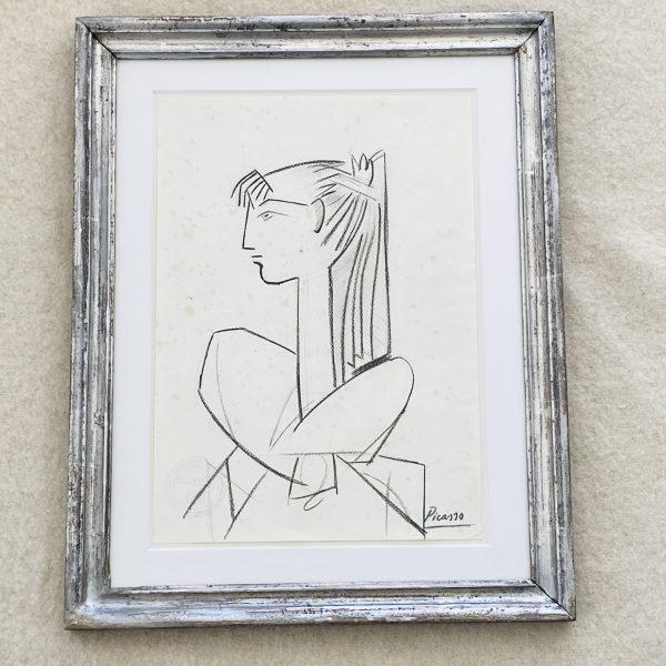 Picasso kultegning