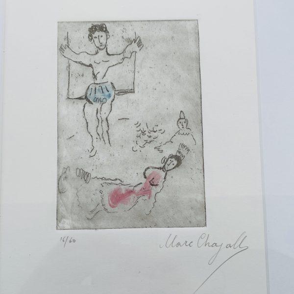 Chagall - signeret litografi