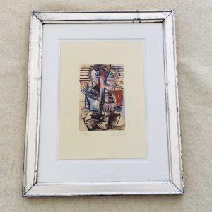 Picasso graveret litografi