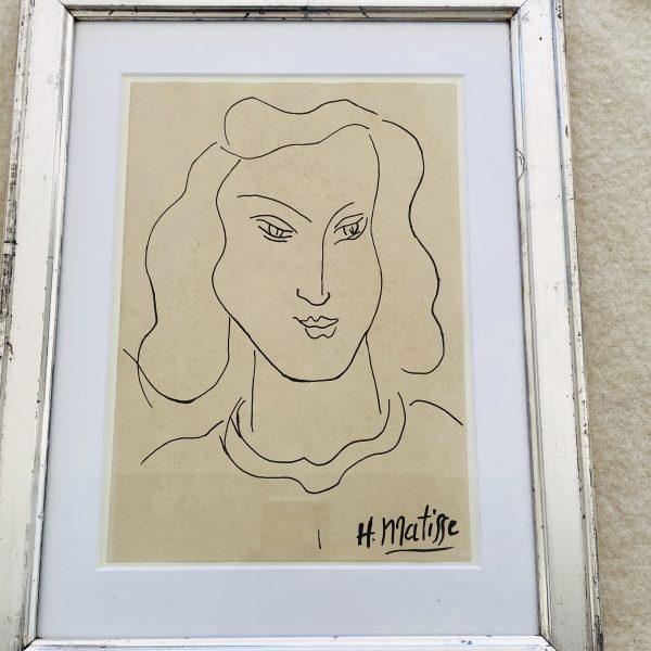 Matisse blæktegning