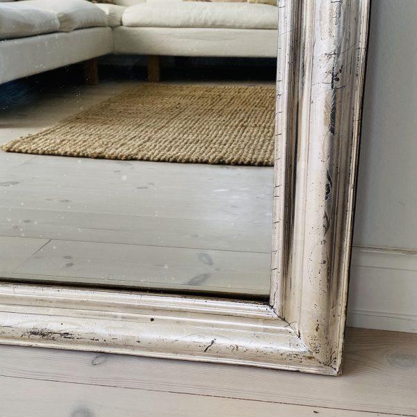 Louis Philippe Sølvspejl 90 x 65 cm